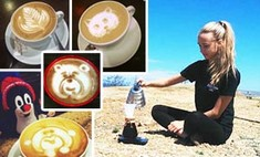 Латте-арт: лучшие рисунки на кофе от иркутских бариста