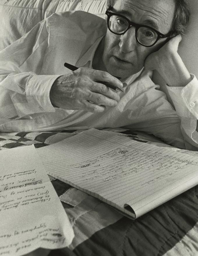 Арнольд Ньюман. Вуди Аллен, сценарист, режиссер, актер, Нью-Йорк, 1996
