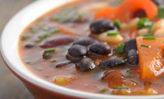 Суп фасолевый с перцем чили от максима копылова