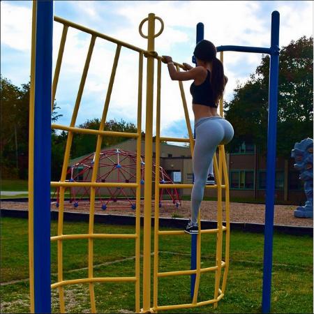Дженнифер Селтер фитнес-тренер Instagram фото