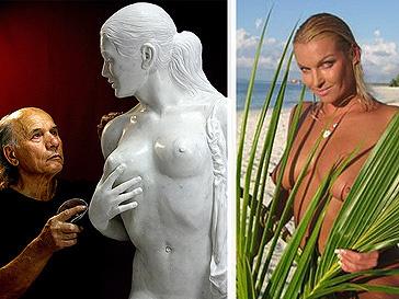 Скульптура Анастасии Волочковой