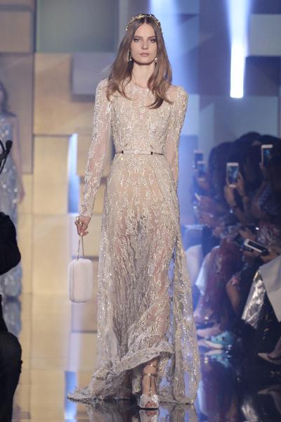 Неделя высокой моды в Париже осень-зима 2015 Elie Saab