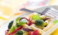 Макароны с овощами: вегетарианский рецепт