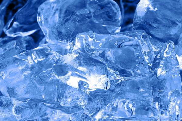 Приготовление льда для лица