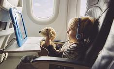 10 способов занять малыша в самолете