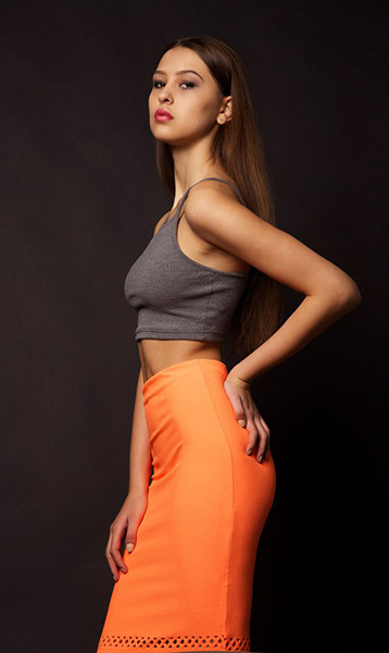Вероника Ведерникова, модель