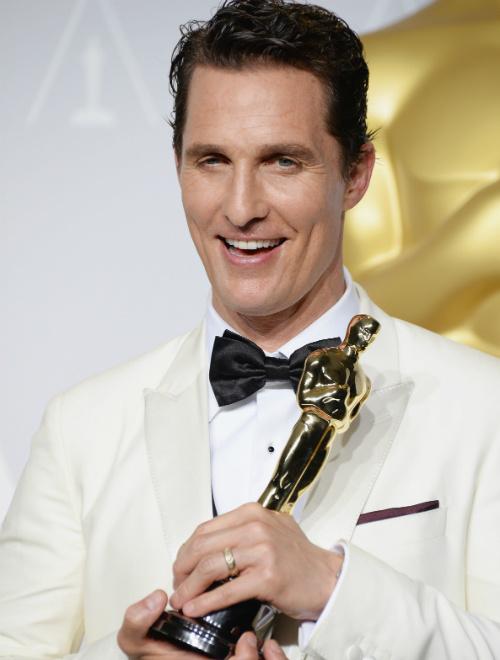 """Названы победители премии """"Оскар"""", лучший актер, Мэттью Макконахи"""