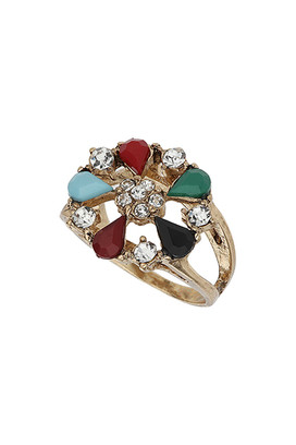 Цветочное кольцо Topshop