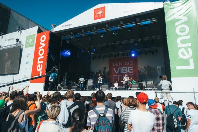 фестиваль lenovo vibe fest 2015 состоялся в москве