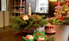 Мастер-класс: создаем новогоднюю композицию для украшения праздничного стола