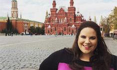 Танцующая толстушка из США сняла клип в Москве