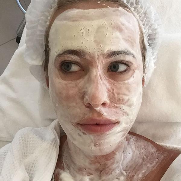 Ксения Собчак в маске фото