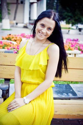 Длинноволосые девушки Тулы, фото, Евгения Дзагания