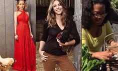 Ну и деревня! 12 звезд, которые выращивают животных с фермы