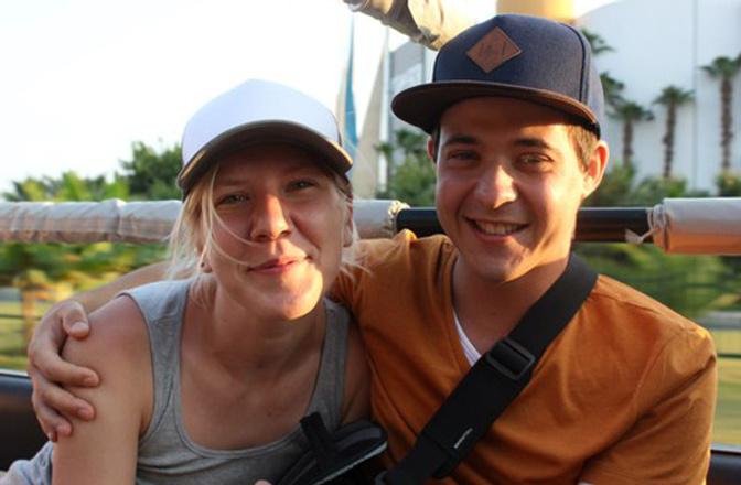 Катя Дунаева и Игорь Кузнецов, фото