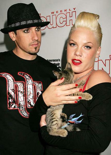 Пинк и Кэри (Лос-Анжелес, 2007 год)