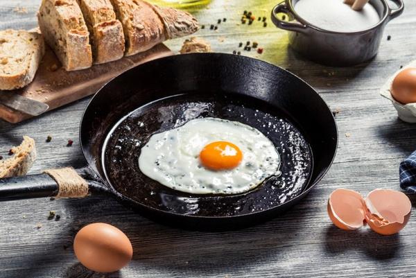 рецепт очень вкусной яичницы