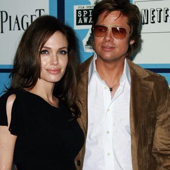 Джоли и брэд питт