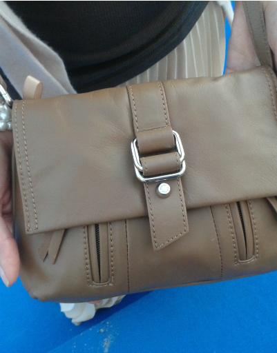 Дарья Повереннова получила сумку в подарок