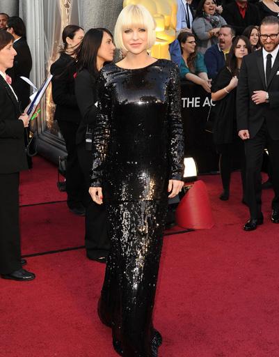 "Анна Фэрис (Anna Faris) на ""Оскаре-2012"""