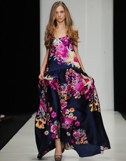 Mercedes-Benz Fashion Week: Von Vonni, весна-лето 2012