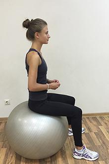 Упражнение для укрепления мышц тазового дна