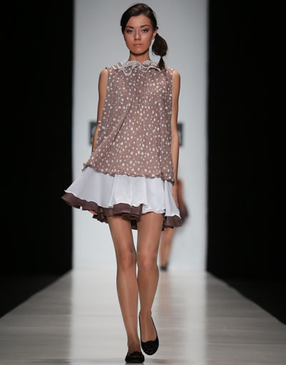 Mercedes-Benz Fashion Week Russia: коллекция Яны Галатулиной весна-лето 2013