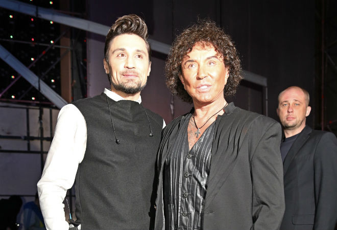Дима Билан и Валерий Леонтьев фото
