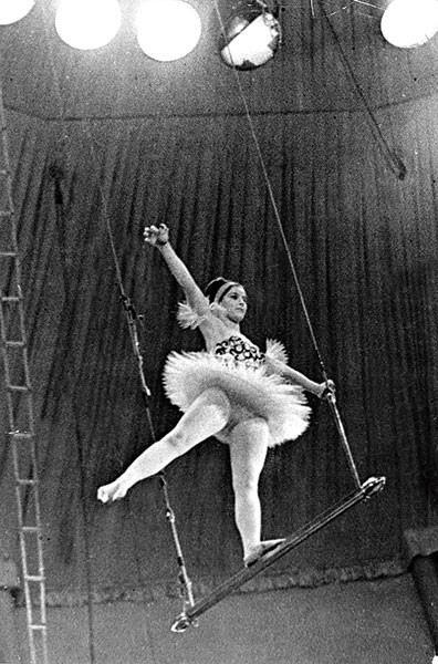 Наталья Варлей выступала в цирке