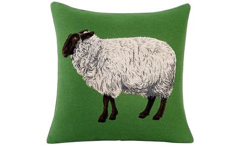 Декоративная подушка Dany Prairie, Yves Delorme, салоны Yves Delorme.