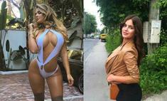 «Русская Кардашьян» оправдалась за фото до пластики
