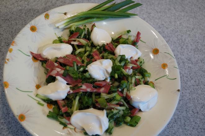 Салат дачника