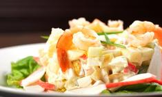 Салат с крабовыми палочками и кукурузой – простое и вкусное блюдо!