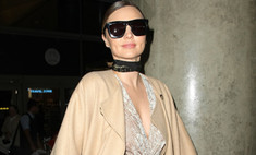 Тренд от Миранды Керр: модное пальто-накидка