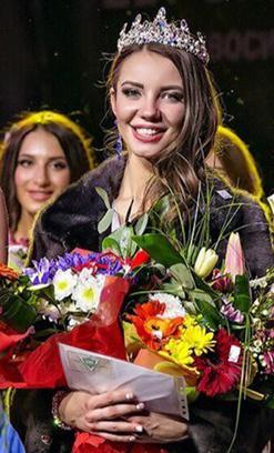 Алиса Шауро, «Мисс Европа Плюс-2015», 25 лет, телеведущая, модель