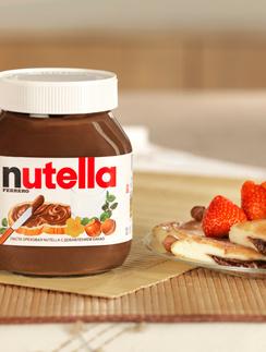 нутелла, рецепты, шоколадные рецепты, Nutella, здоровый завтрак, ферерро, полноценный завтрак