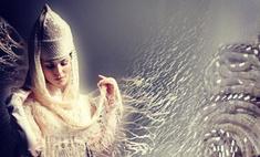 Сати Казанова выбрала свадебный наряд