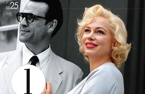 Мишель Уильямс (Michelle Williams) в роли Мэрилин Монро (Marilyn Monroe)