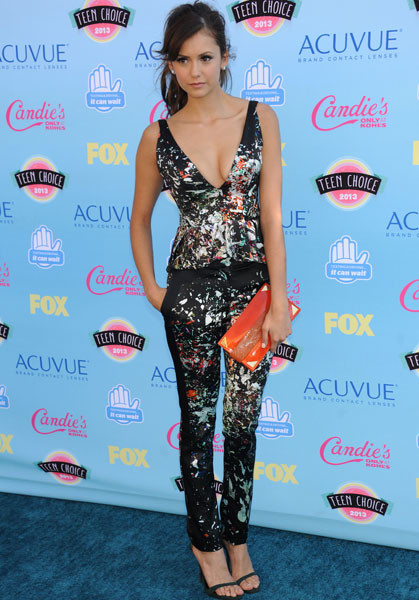 Нина Добрев на Teen Choice Awards-2013