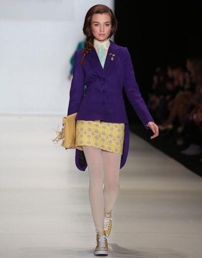 Mercedes-Benz Fashion Week Russia: коллекция Ekaterina Smolina for Berendeevo Tsarstvo весна-лето 2013