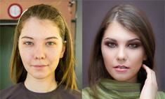 Чудеса макияжа! Фото сибирячек до и после работы визажиста
