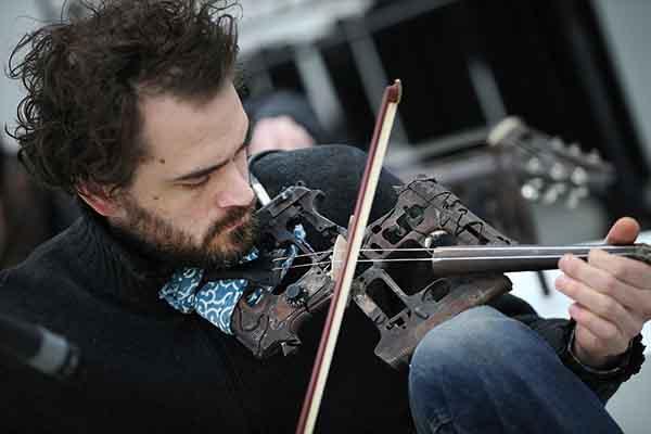 Музыкант, фото