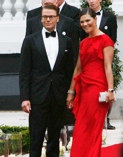 принц Даниэль и принцесса Виктория
