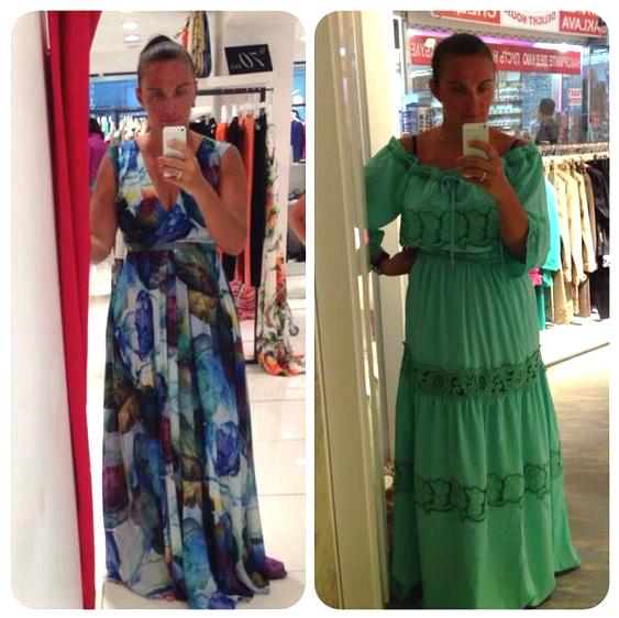 Елена Ваенга просит помочь ей с выбором наряда