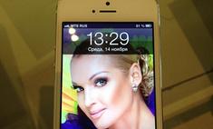 Анастасия Волочкова: «Как ужасно работает айфон 5!»