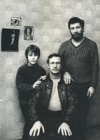 Иван Краско с сыном Андреем Краско и внуком: фото