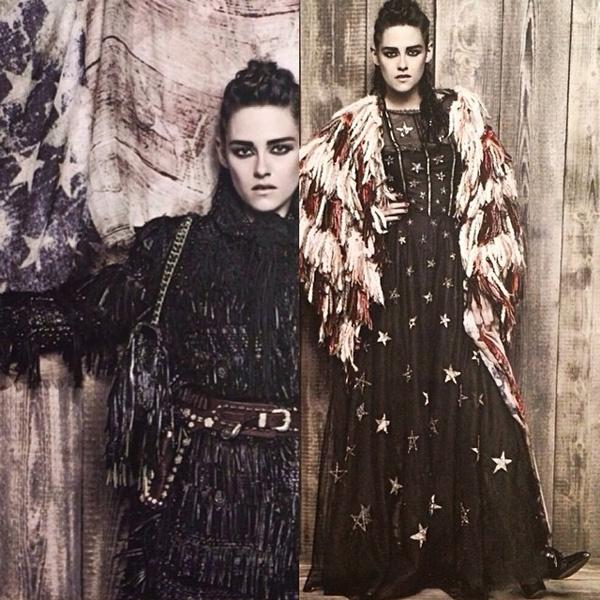 Кристен Стюарт в рекламной кампании Chanel Paris-Dallas