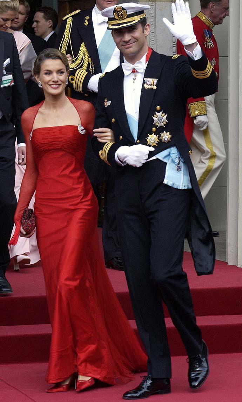 Принцесса Астурийская Летисия и принц Фелипе
