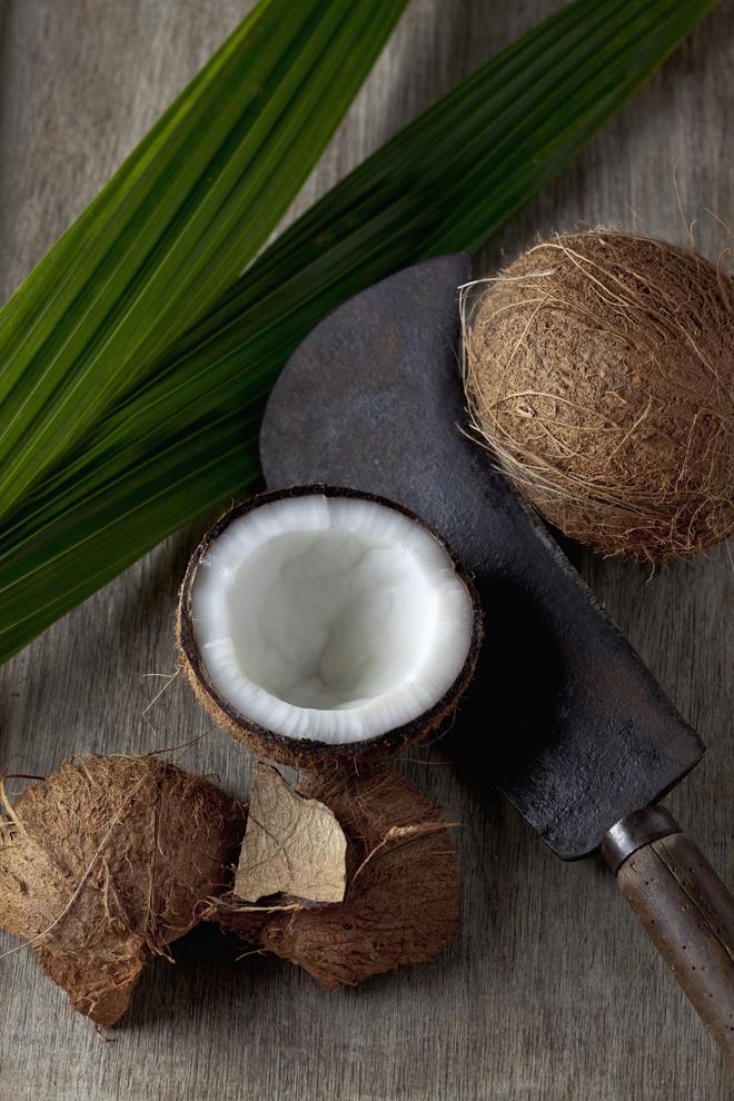 как чистить кокос в домашних условиях