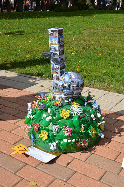 Работа «Цвети, Калуга!» Егора Калмыкова